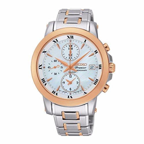 Seiko Damas Seiko Premier Chronograph Reloj SNDV70P1
