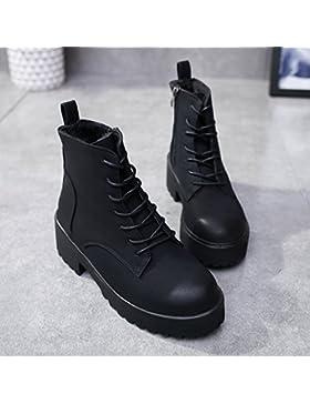 KPHY-Martin Wet and Wild botas de invierno más cálido terciopelo algodón grueso de primavera y otoño zapatos botas...