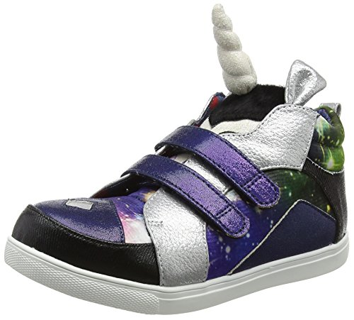 Irregular Choice Unisex Kinder Unicorn Dance Sneaker, Schwarz (Black A), 33 EU