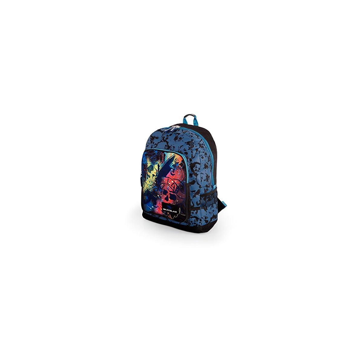 51wMvb91euL. SS1200  - SKPA T - Mochila Escolar Skatelab Azul, color Azul