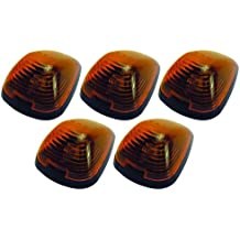 Pacer Performance 20-236 Hi-Five Amber Ford Style Cab Roof LED Light Kit, (Pack of 5)