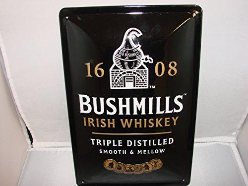 bushmills-whisky-irlandes-cartel-de-metal-20-x-30-x-cm