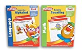 Mr. Potato Head Pre-K Workbook Set - Learn Counting and Learn the Alphabet