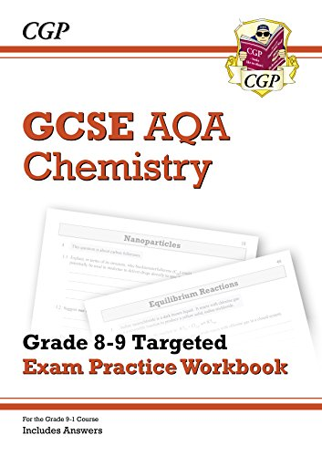 New GCSE Chemistry AQA Grade 8-9 Targeted Exam Practice Workbook (includes Answers) (CGP GCSE Chemistry 9-1 Revision) (English Edition) por CGP Books