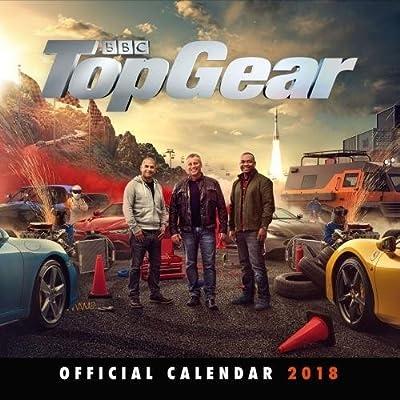 Top Gear Official 2018 Calendar - Square Wall Format