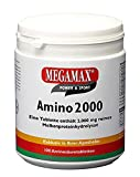 MEGAMAX Amino 2,000 Amino Acid Tablets; Pure Whey Protein Hydrolysate for Diet & Building Muscles. Contents: 100 tablets (200g)
