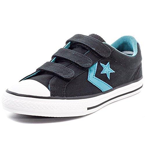 Converse 651822 Star Player EV 3V Kinder Sneakers (schwarz) Noir
