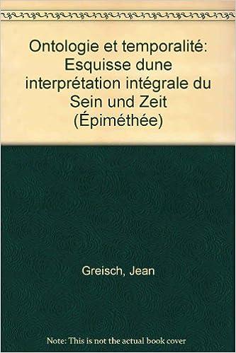 En ligne Ontologie et Temporalité epub pdf