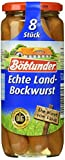 Böklunder echte Landbockwurst, 4er Pack (4 x 360 g)