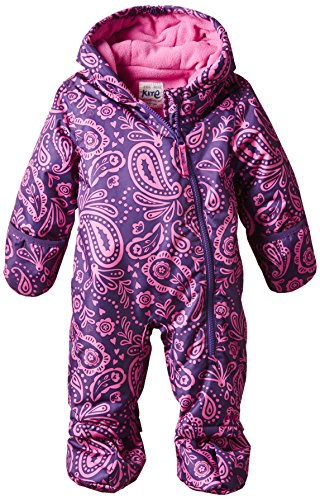 Kite Kids Baby-Girls Nimbus Paisley Snowsuit, Purple (Purple/Pink), 3 Years (Manufacturer Size:2-3 Years)