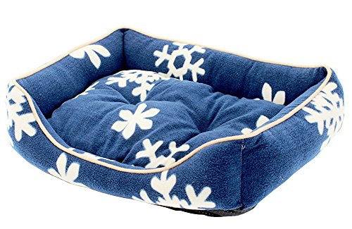 Bild: Fashion Pet Bed Washable HaustierNestKatzeBettHundehausS  Blau