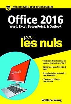 Office 2016 pour les Nuls poche (POCHE NULS)