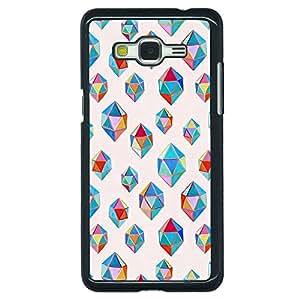 Jugaaduu Diamonds of Dreams Pattern Back Cover Case For Samsung Galaxy Grand Prime G530H