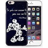 """iPhone 7 Cita de Disney Estuche de Silicona / Cubierta de Gel para Apple iPhone 7 (4.7"""") / Protector de Pantalla y Paño / iCHOOSE / Mickey - Estrellas"""