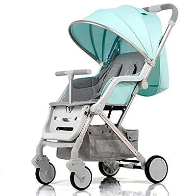 YC electronics Sillas de Paseo Una Mano Plegable Cochecito de bebé 0-3 años de Edad Ultraligero portátil Paraguas sillones Desmontable bebé Carro Sillas Ligeras