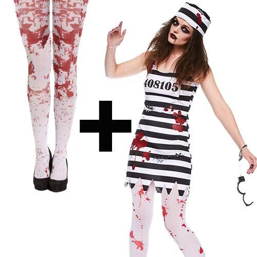 MFD Zombie Convict Ladies + Tights 10-12