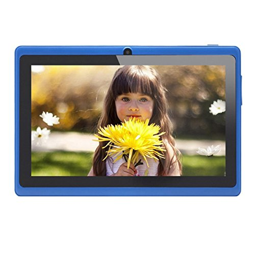 ) 7 Zoll Android Google Tablet PC 4.2.2 8GB 512MB DDR3 Quad-Core Camera Capacitive Touch Screen 1.5GHz WiFi Blau ()