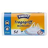 Swirl 5 l Tragegriff Müllbeutel, 40 Stück