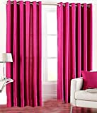 Best Epic Furnishings Beds - Epic CLASSICAL@Home Furnishing Polyester Floral Eyelet Door Curtain Review