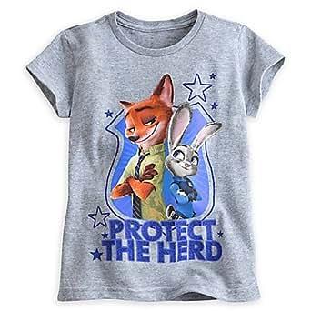 T-shirt Nick et Judy de Zootopie pour enfants-7-8 ans Disney
