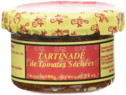 L'Epicerie Provençale Tartinade de Tomates Séchées - Lot de 3