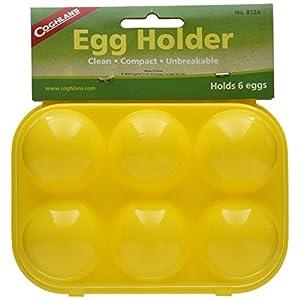 51wN5aStNcL. SS300  - Coghlan's C812A 6 Egg Holder, Yellow