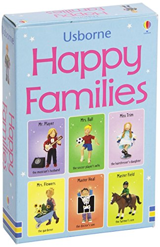 Happy Families. Ediz. illustrata (Snap Cards)