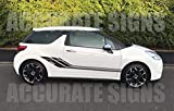 accuratesigns DS3 Graphics Decal Sticker Kit