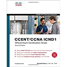 CCENT/CCNA ICND1 Official Exam Certification Guide (CCENT Exam 640-822 and CCNA Exam 640-802).