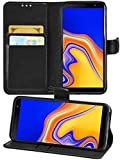 Gadget Giant Wallet Case for Samsung Galaxy J4 Core PU