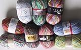 Unbekannt Sockenwolle 900g Pakete Marke Opal