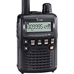 Handscanner ICOM IC-R6 / Frequenzbereich 0.100 - 1309.995 MHz / AM, FM, WFM / 1300 Speicherzellen    Funkscanner / Handscanner / Empfänger