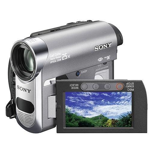 Sony DCR-HC62 Camcorder (MiniDV, 25-fach opt. Zoom, 6,9 cm (2,7 Zoll) Display, Bildstabilisator) Sony Dvd Videokamera