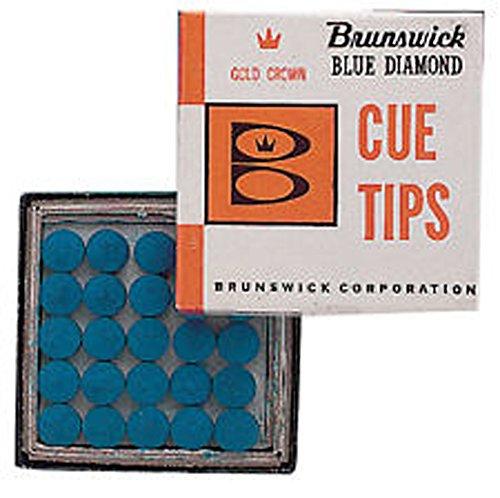 Brunswick Snooker Pool Spannen Zubehör Ersatz (B/D) Queue/Stick Tipps mehrfarbig mehrfarbig 10 mm -