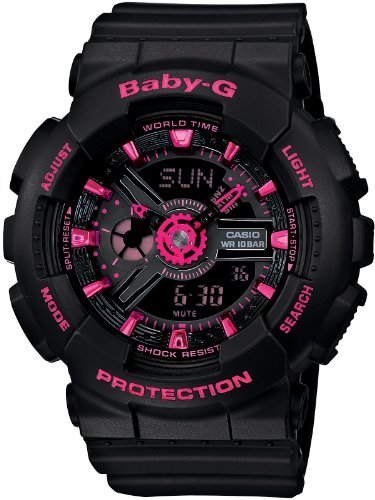Casio Baby-G BIG CASE Ladies Watch - LIMITED EDITION - BA-111-1AJF (Japan Import)