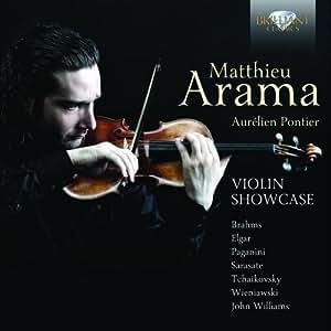 Risultati immagini per Brilliant Classics avec le violoniste Matthieu Arama