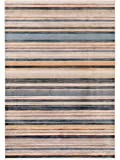 Benuta Teppich Vintage Safira Multicolor/Blau 200x285 cm - Vintage Teppich im Used-Look