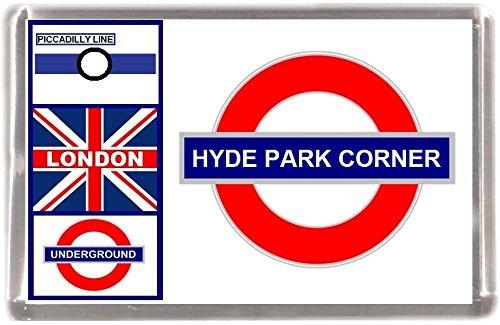 Kühlschrankmagnet London U-Bahn Hyde Park Geschenk Tourist Souvenir Mit Englisch Wörter