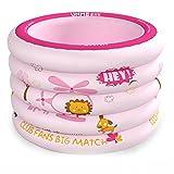 Die Badewanne Aufblasbares Baby-Pool-Rosa-Gelb Material: Umweltfreundliches PVC-Material Größe: 100 * 75cm (Farbe : G)