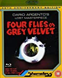 Four Flies On Grey Velvet [Uncut remastered] [Blu-ray] [Region A & B & C]