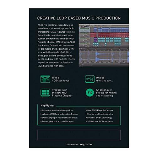 ACID Pro 9|9|1|Perpetual|PC|Téléchargement