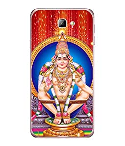 PrintVisa Designer Back Case Cover for Samsung On5 (2016) New Edition For 2017 :: Samsung Galaxy On 5 (2017) (Lord Ayeppa Flashy Background)