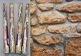 4er Set Klebefolie Naturstein Mauer rustikal - je Rolle 45x200 cm selbstklebende Folie - Dekorfolie