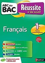ABC du BAC Réussite Français 1ere Technologique