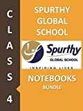 #5: Spurthy Global School Class 4 Notebook Bundle