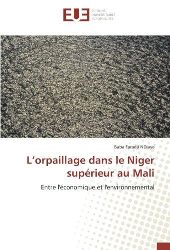 L'orpaillage dans le Niger supérieur au Mali: Entre l'économique et l'environnemental