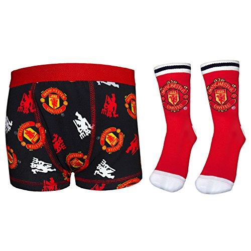 manchester-united-fc-gift-set-boys-red-socks-boxer-shorts-black-7-8-years
