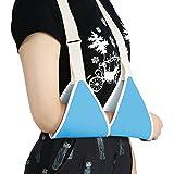 Zjchao ARM Sling, gomito braccio sostegno leggero design ergonomico spalla per lesioni o interventi chirurgici regolabile imbottita Sprain Fracture brace per adulti e bambini, Blue