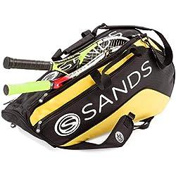 SANDS - Raqueta de Tenis para niños y Mujeres, con Cordaje equilibrado