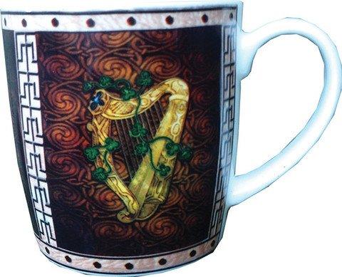 McLaughlin's Irish Shop Original Tee-/ Kaffeebecher aus Irland. Harp.